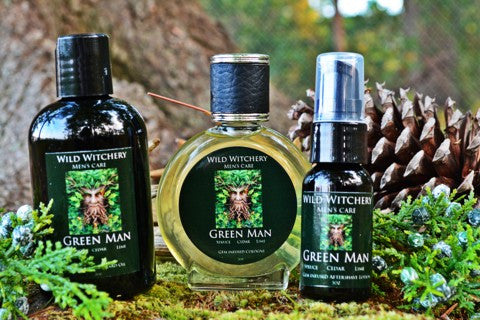 Green Man Men's Care Set