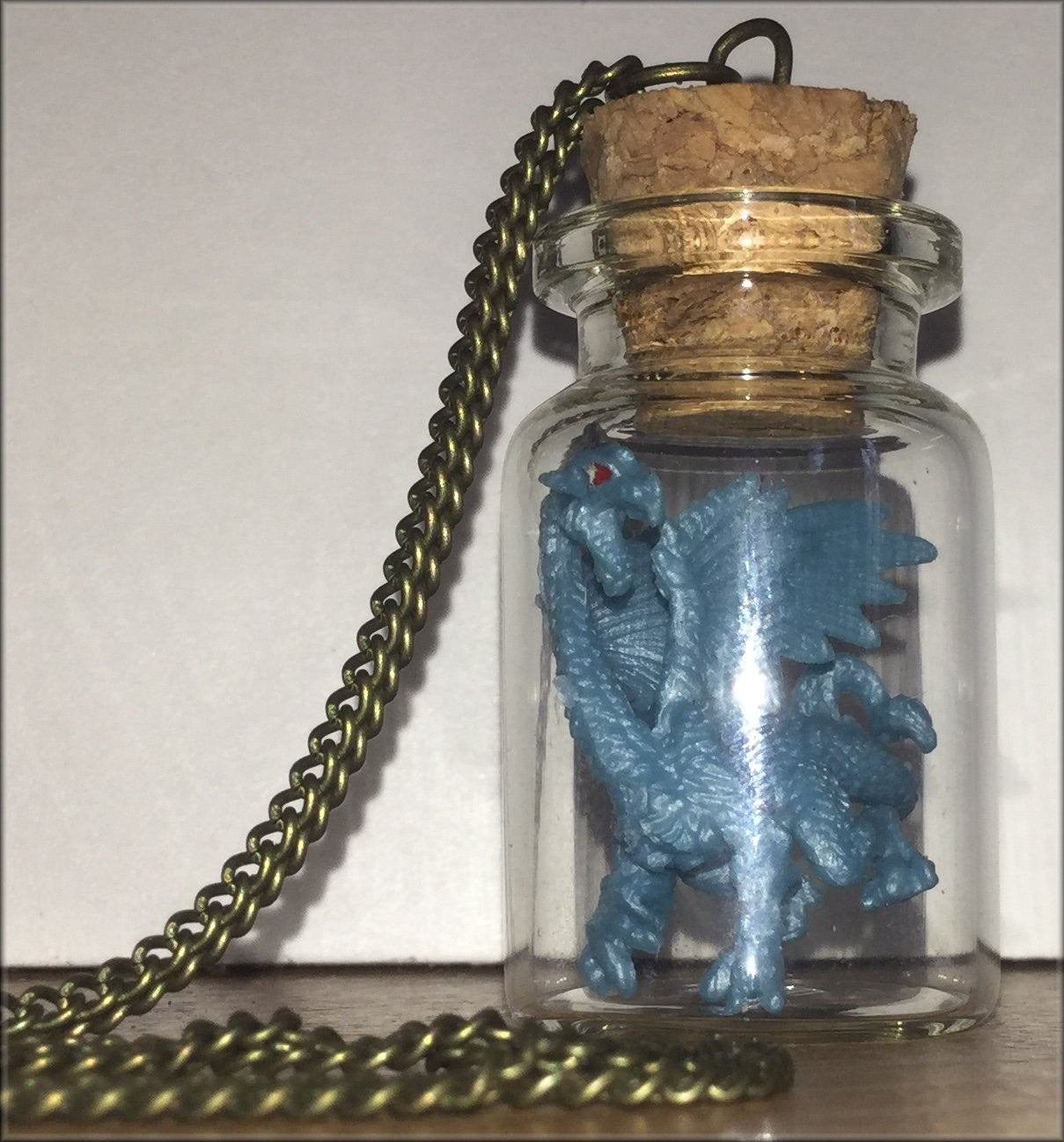 Dragon in a Bottle necklace