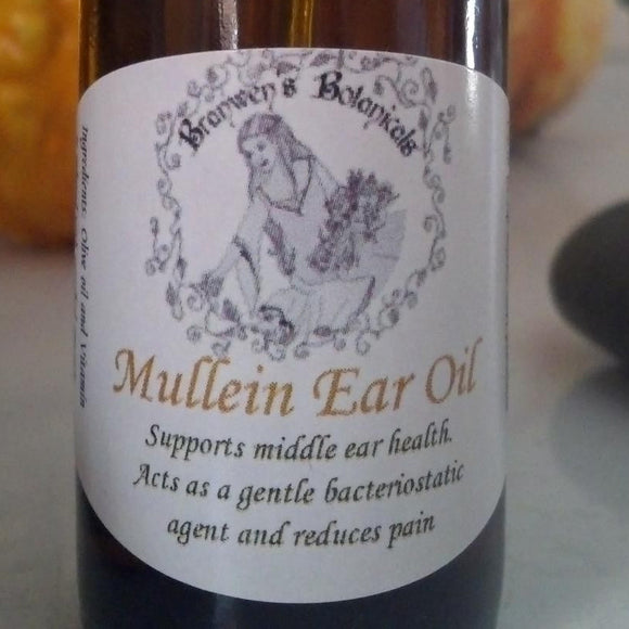 Organic Garlic-Mullein Ear Oil