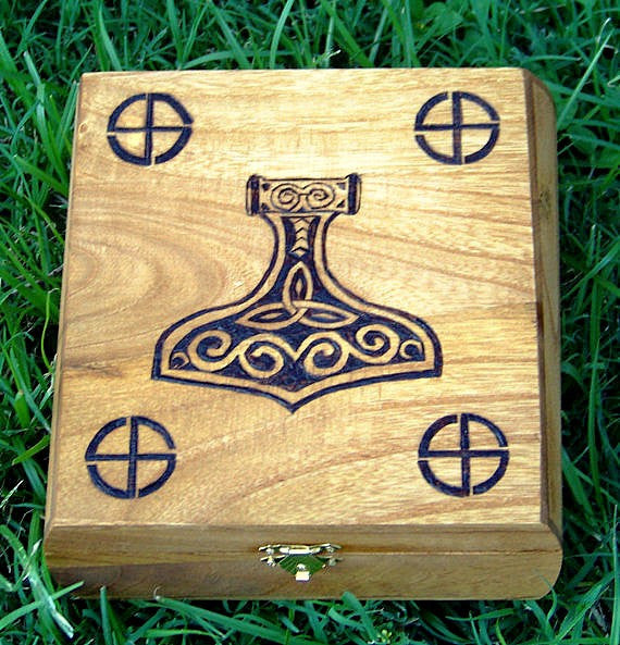 Thor's Honor Keepsake Box