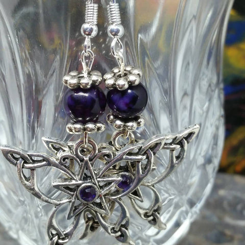 Dragon Butterfly Earrings