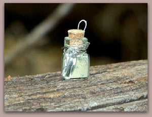 Prosperity Bottle with Quartz Crystal