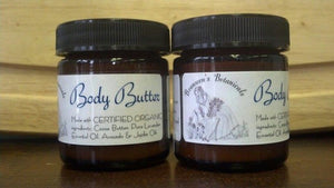 Body Butter - made with 100% Certified Organic ingredients