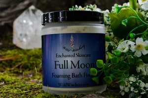Full Moon Foaming Bath Potion~For a Full Moon Bathing Ritual