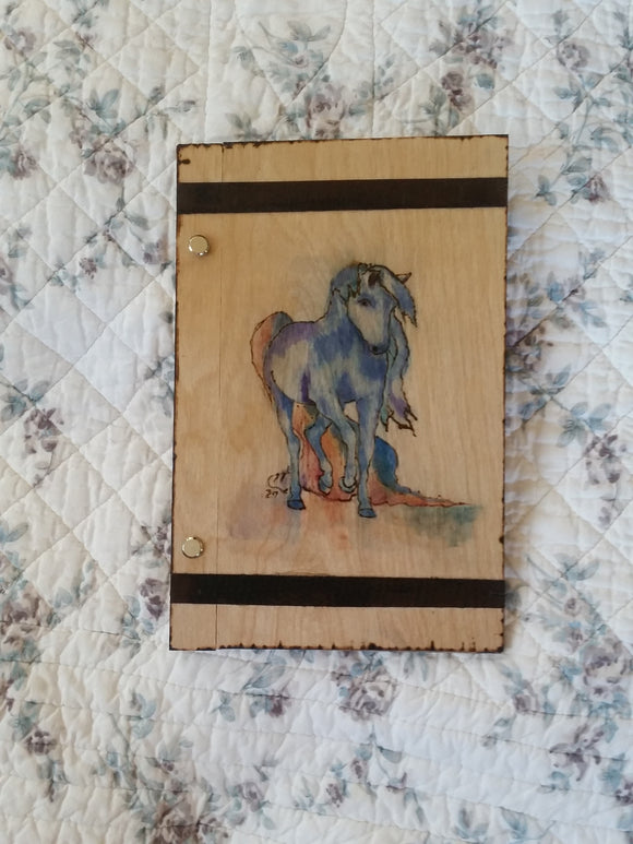 Horse 6 x 9 inch  Book of Shadows