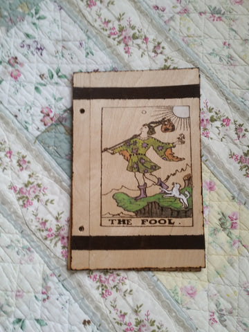Fool 6 x 9  Book of Shadows