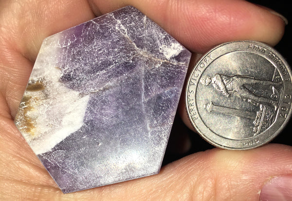 Large Chevron Amethyst 2