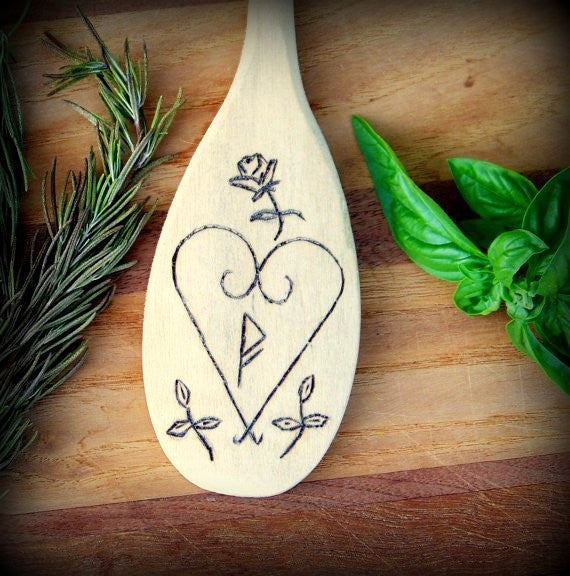 Love Wand for the Kitchen Witch
