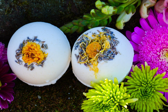 The Wilds Bath Bomb~For a Bathing Ritual that connects you to the Wilds of the Earth and Yourself