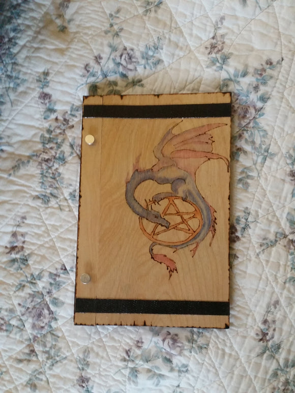 Dragon Pentagram 6 x 9 Book of Shadows