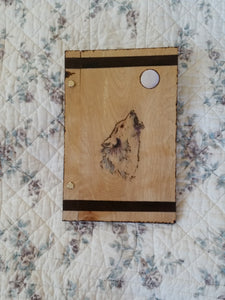 Howl at the Moon 6 x 9  Book of Shadows