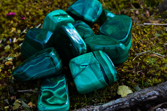 Malachite~For Transformation, Healing & Growth