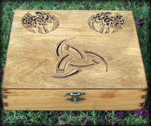 Tribute to Odin Keepsake Box