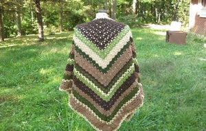 Lovely Earth Mother Shawl