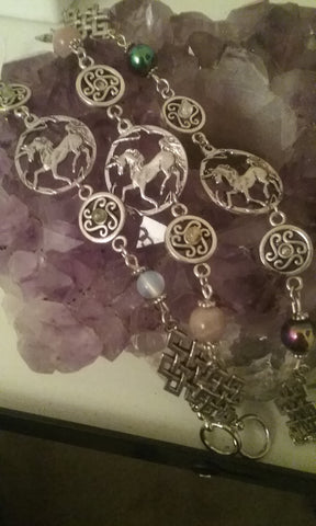 Unicorn Gemstone Bracelet