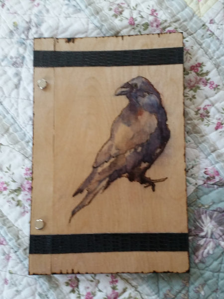 Raven 6 x 9  Book Of Shadows