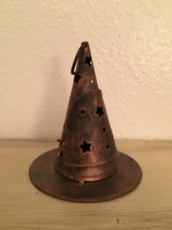Witch's Hat Tea Light Holder