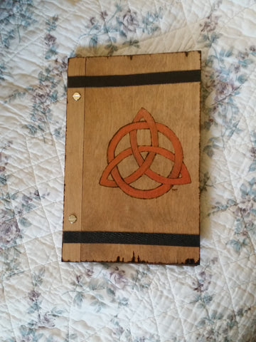 Triquetra 6 x 9 Book of Shadows