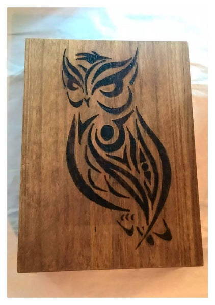 Wood burned Alter Boxes