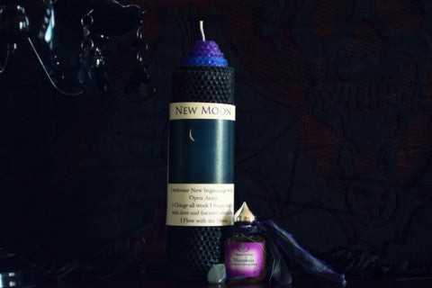 New Moon Ritual Set~For Intention Setting and Honoring the Noumenia