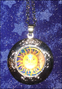 Celestial Locket Necklace