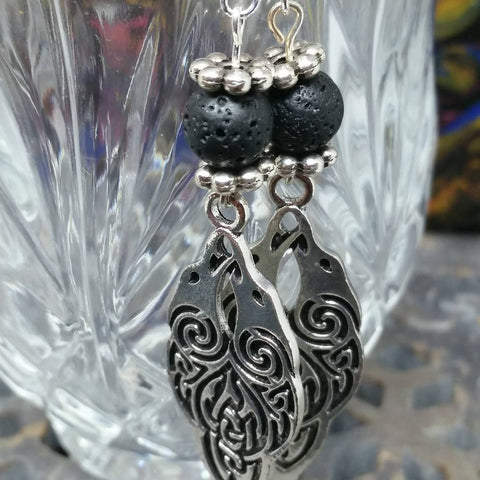 Raven Knot Earrings