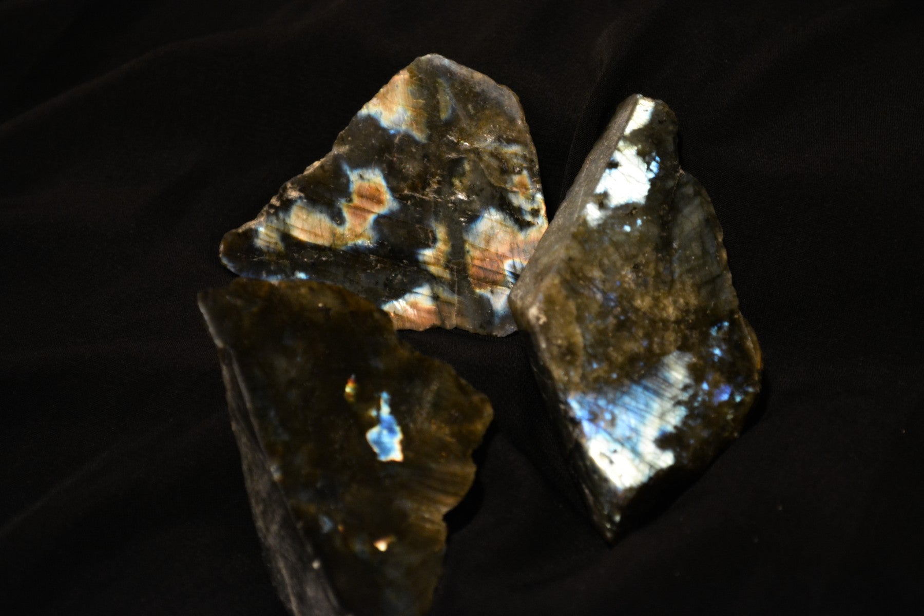 Labradorite Slabs~For New Moon Magick, Intention Setting & New Beginnings