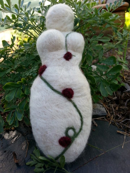 Herbal Goddess Dolls/Plant Spirit Dolls/Needle-felted Poppets