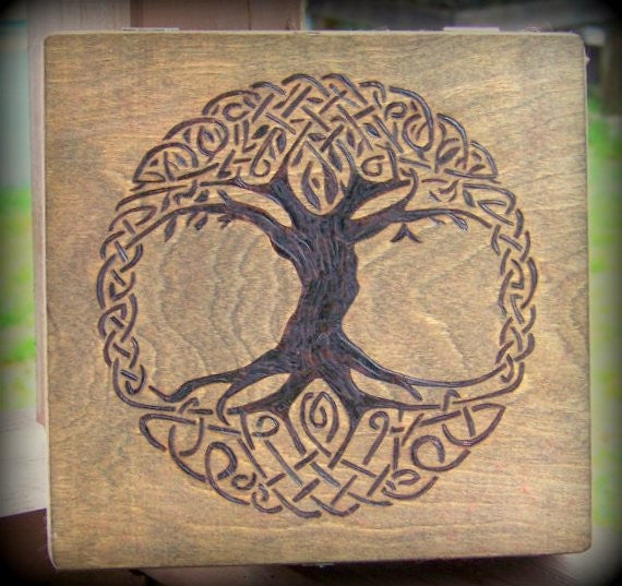 Tree of Life Spell Box