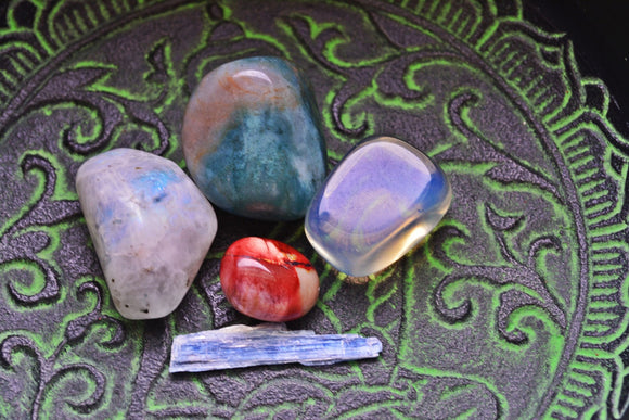 New Beginnings Gem Set~For Beginning Anew