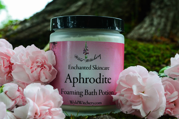Aphrodite Foaming Bath Potion~For a Loving Bathing Ritual