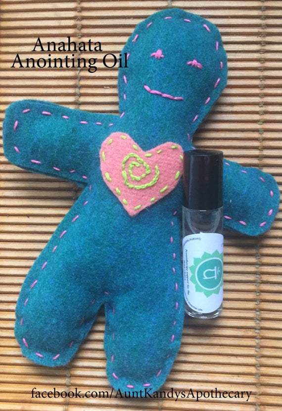 Anahata (Heart Chakra) Anointing Oil