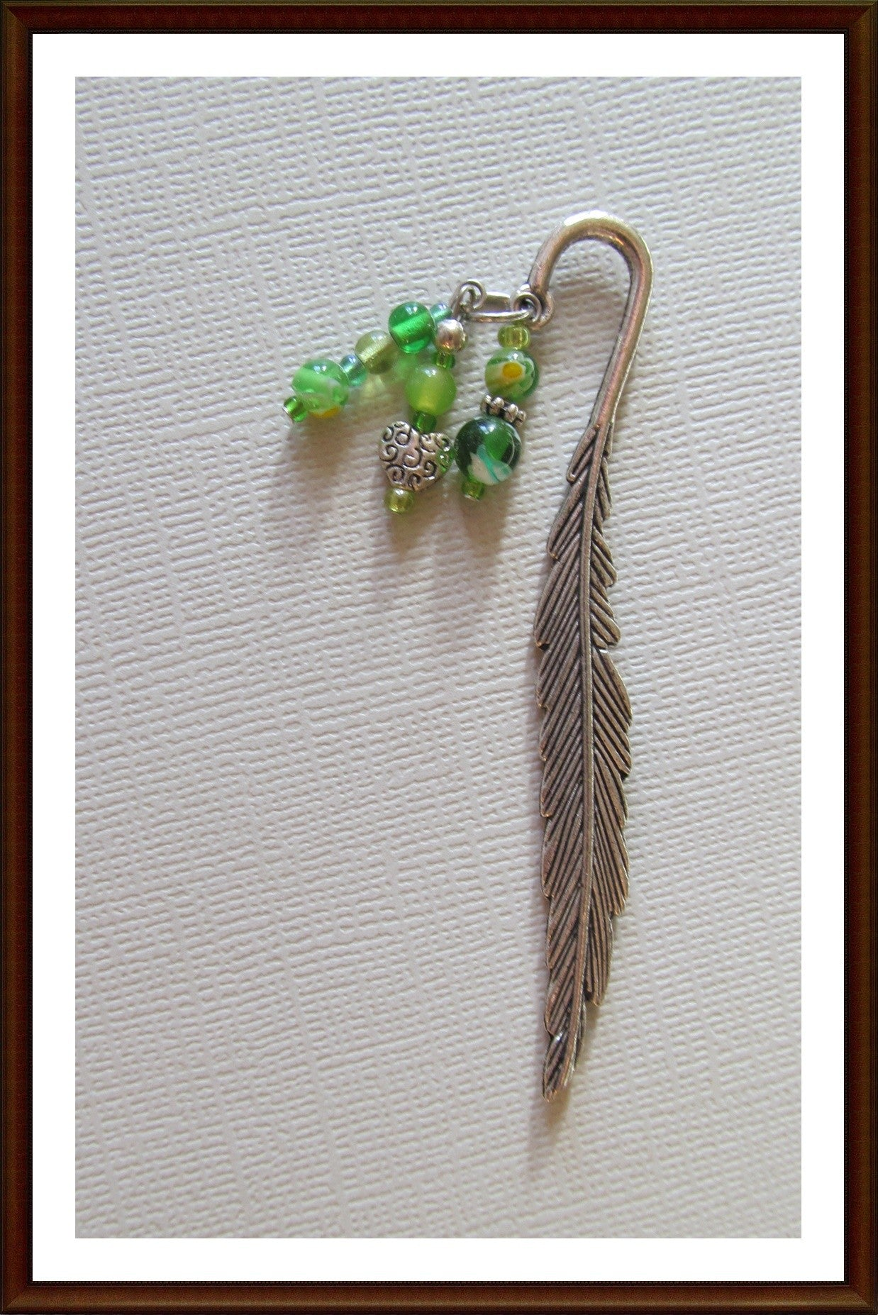 Feather & Heart Bookmark