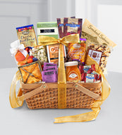 Gourmet Riches Kosher Gift Basket