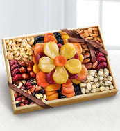 Flowering Gourmet Kosher Dried Fruit & Nut Tray