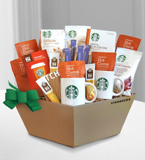 Starbucks Coffee, Cocoa, and Chocolate to Share