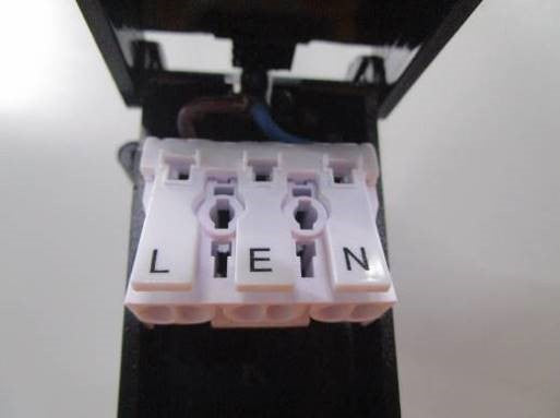 Fire Rated LED Downlight-terminal-block