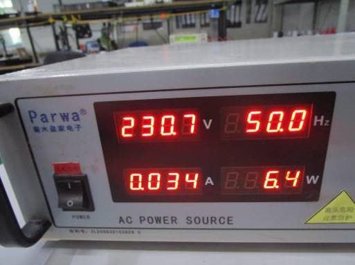 fire-rate-led-downlight-power-testing