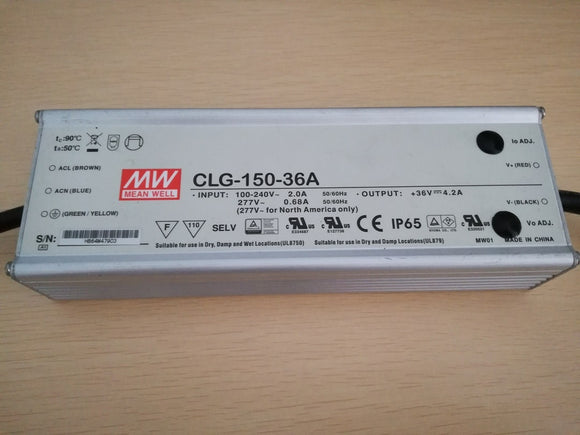 Mean Well LED Driver CLG 150 36