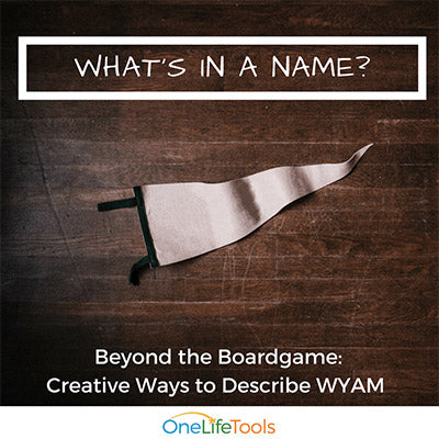 What's in a Name? Beyond the Game: Creative Ways to Describe Who You Are Matters!