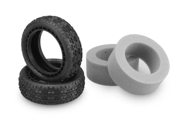 "JConcepts ""Swaggers"" 4WD Front 2.2"" Carpet Tires, Pink Compound"