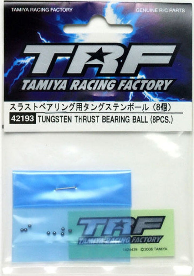 Tamiya 42193 TRF Tungsten Carbide Thrust Ball Set, Garage Sale
