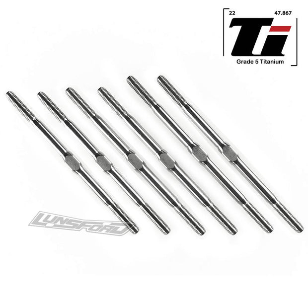 Lunsford PUNISHER Titanium Turnbuckles Schumacher CAT L1 & Evo