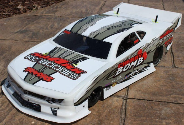 "Shark R/C Bodies ""Cherry Bomb"" NPRC Short Course Drag Race Body"