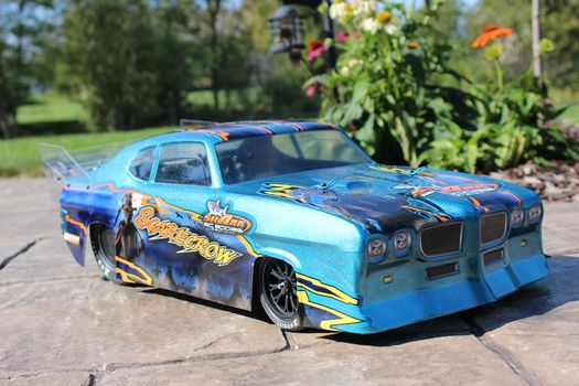 "Shark R/C Bodies ""Scare Crow"" NPRC Short Course Drag Race Body"