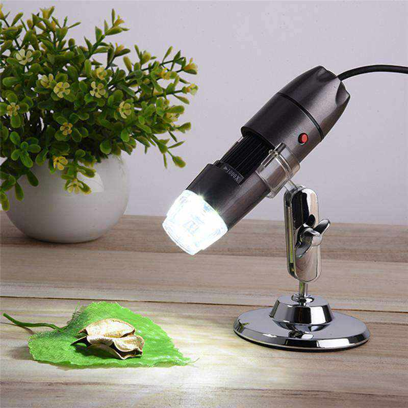 Digital USB Microscope - UP TO 1000x with 8 LED lights-Gadgets-NEthing Store