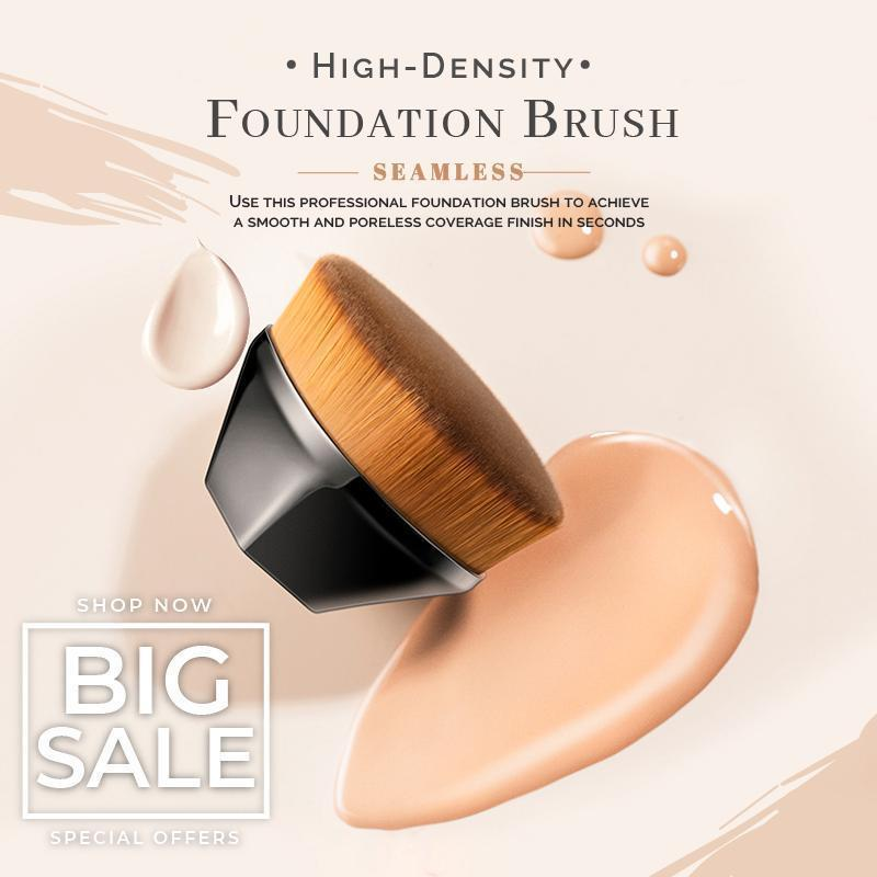 MagiBeauty High Density Seamless Foundation Brush (While Supplies Last) - 50% OFF PROMOTION TODAY ONLY