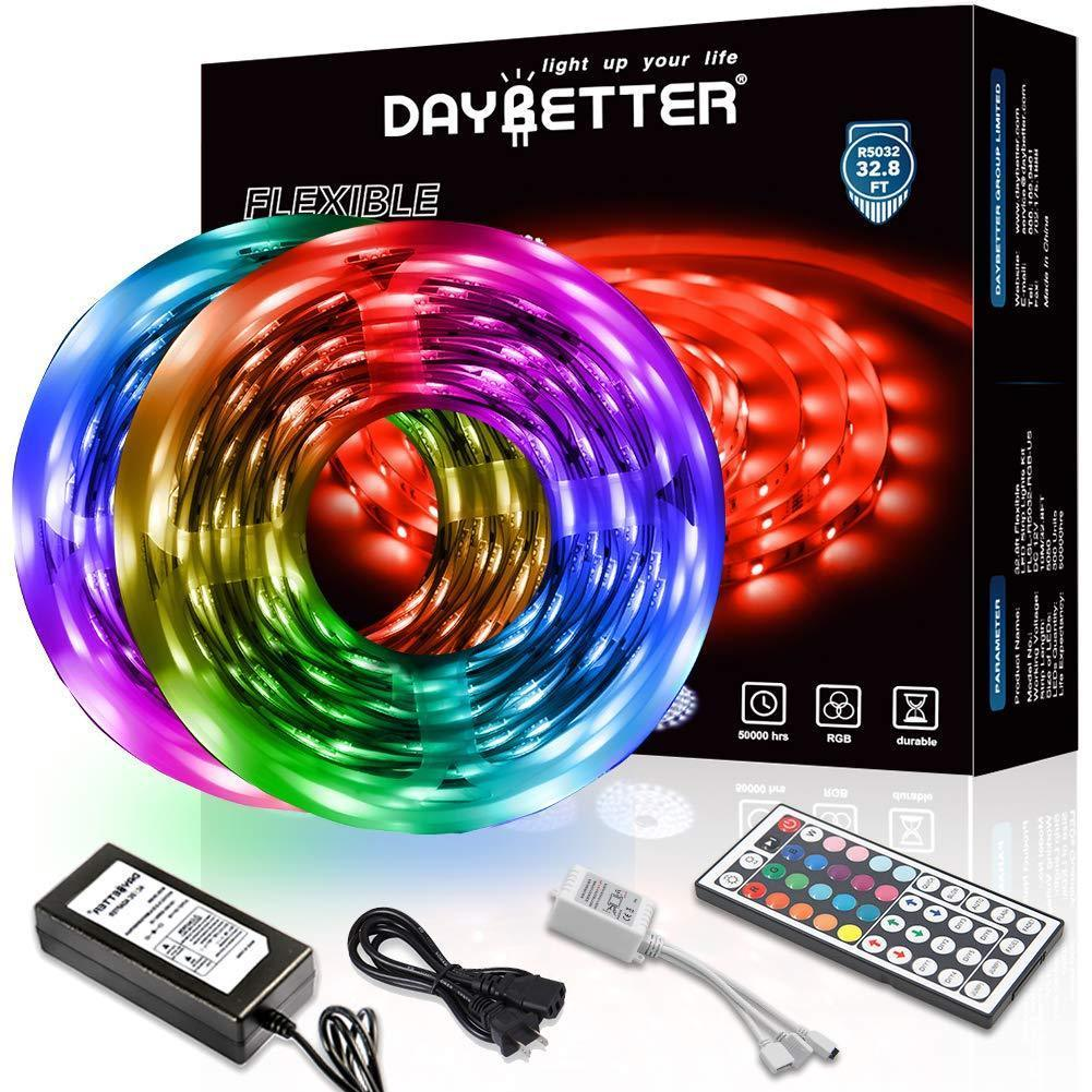 Premium RGB LED Strip Lights with Remote Control - 50% OFF TODAY ONLY!