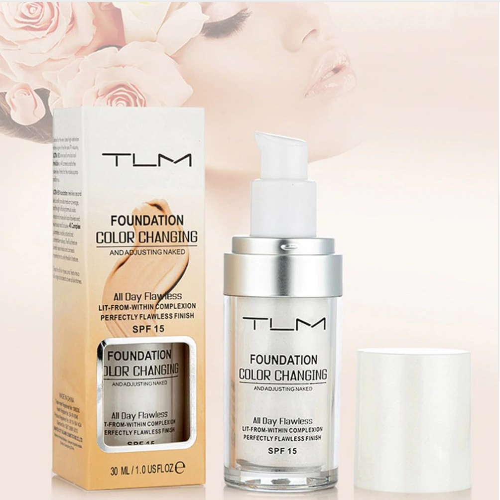 End of Winter Sale!  UP TO 70% OFF! TLM Flawless Color Changing Foundation