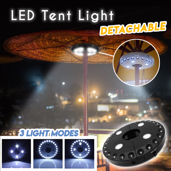 LED Tent Light - UP TO 50% OFF TODAY ONLY!